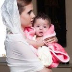 Foto: Lenuța Burghilă și-a botezat nepoțica!
