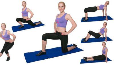 Exerciţii pentru picioare tonifiate fără celulită!
