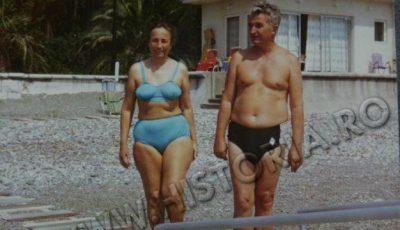 Ce costum de baie purta Elena Ceaușescu în 1976!