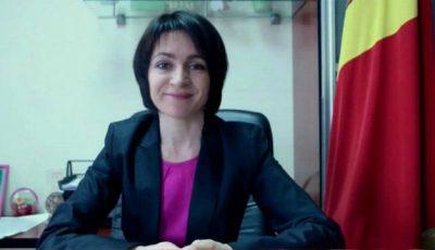 Maia Sandu, printre cele mai importante femei, selectate de google!