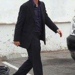 "Mark Wahlberg Has Fun In Between Takes On Set Of ""Entourage"""