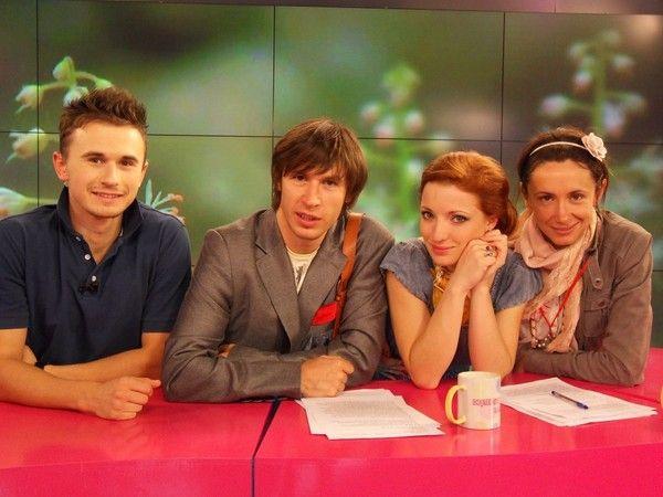 Roman Iagupov  este alături de  Carolina Voitenco