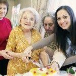 Foto: Nu se dă bătută. Vrea să ajungă la 106 ani!