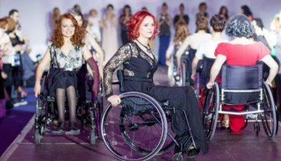 Pe podium, în scaune cu rotile!