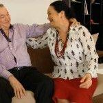 Foto: Nunţi celebre: Ioana Căpraru și Vladimir Serbușcă (Video)