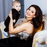 Foto: Vera Terentiev, în prima ședință foto cu Răzvănel în brațe!