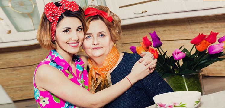 Foto: Tania Cergă despre mama