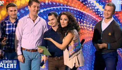 """Brio Sonores!!!! Andra și-a făcut cruce când i-a auzit la """"Românii au Talent""""!"""
