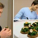 Foto: Bucătarul Petru Scalețchi gătește bucate de post pentru părintele Ioan Ciuntu!