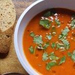Foto: Supă de dovleac copt, cu rozmarin şi chimen