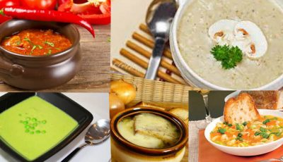Reţete de supe şi ciorbe pe care trebuie să le încerci