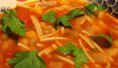Minestrone, supa preferată a italienilor