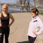 """Foto: Cele 2 concurente din proiectul """"Slăbeşte Sănătos"""" cedează nervos pe ultima sută de metri!"""