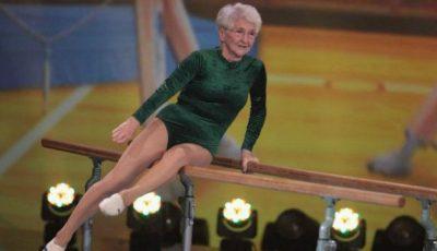 Are 87 de ani și nu s-a lăsat nicio zi de sport!