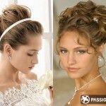 Coafură de mireasă pentru părul cu lungime medie 5