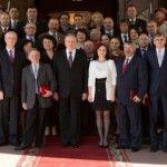 Foto: 42 de moldoveni au primit titluri și medalii de la președintele țării Nicolae Timofti