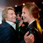 Foto: Djanabaeva, prima apariţie publică după scandal