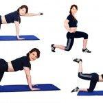 Foto: 6 exerciții pentru coapse și fese, demne de sezonul estival!