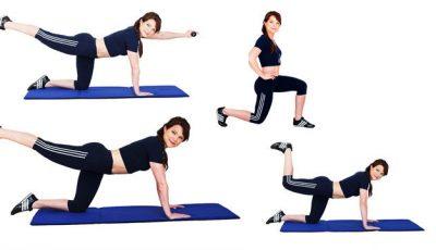 6 exerciții pentru coapse și fese, demne de sezonul estival!