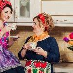 Foto: Tania Cergă nu are nevoie de prietene, atât timp cât o are pe mama!