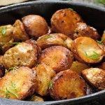 Foto: Cum obţii cartofii la cuptor, crocanţi şi gustoşi