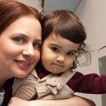 Foto: Elena Volcovschi: După 15 ani de încercări, a născut-o pe Leanca-Teodora. Și asta înseamnă totul pentru ea