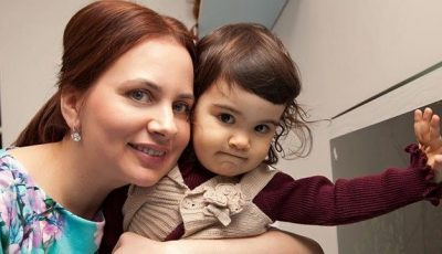 Elena Volcovschi: După 15 ani de încercări, a născut-o pe Leanca-Teodora. Și asta înseamnă totul pentru ea