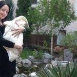 Foto: Mariana Șura și-a botezat fetița!