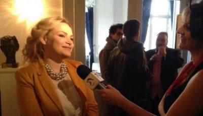 Primele interviuri oferite de Cristina Scarlat în engleză!