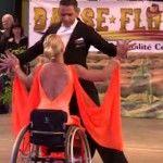 Foto: Dansatoarea în scaun cu rotile care a cucerit lumea!