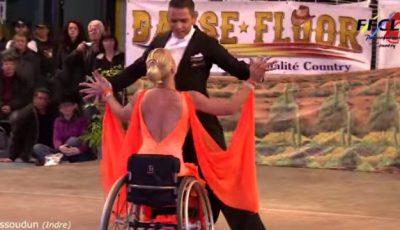 Dansatoarea în scaun cu rotile care a cucerit lumea!