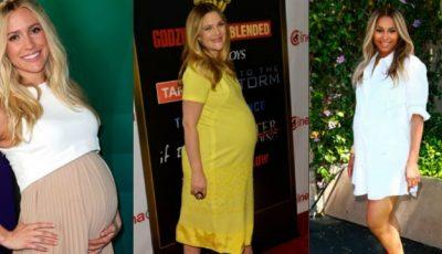 Cele mai stilate vedete însărcinate!