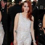 Foto: Gafă vestimentară la Cannes. Iată cu ce a asortat Kristen Stewart salopeta tip prințesă!