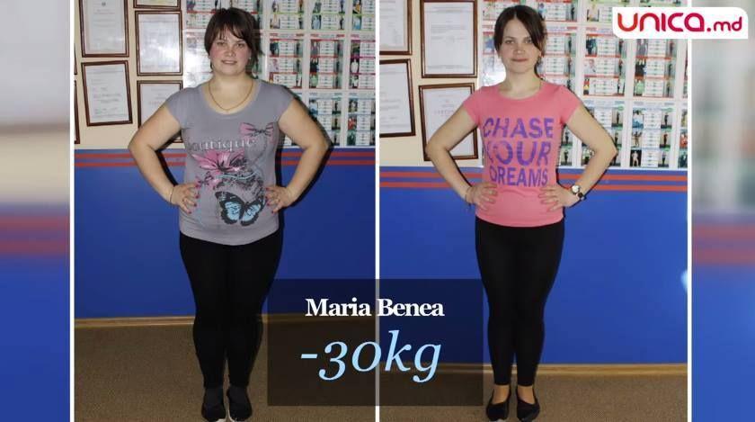 slabire 30 de kilograme