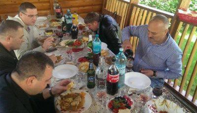 Gheorghe Țopa a făcut o petrecere cu iz politic?