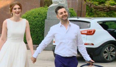 Vladimir Voronin a făcut show la nunta lui Adrian Ursu și a Irinei Negara