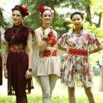 Foto: Elena Grosu vrea să vadă în fiecare zi câte o femeie îmbrăcată în rochiile ei!