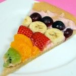 Pizza cu fructe