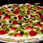 Pizza cu fructe 2