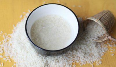 Apa de orez! Beneficiile și o rețetă bună de folosit