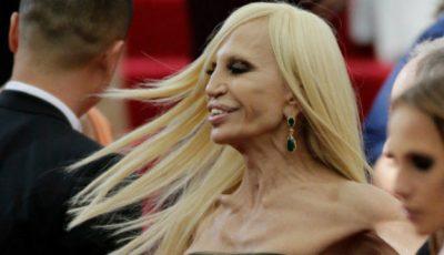 Doar piele și oase! Donatela Versace și-a îngrozit fanii