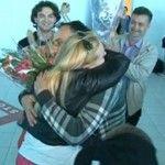 Foto: Cristina Scarlat, întâmpinată de familie și fani la aeroport!