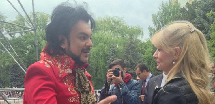 Foto: S-au revăzut după 10 ani! Reacția lui Kirkorov când a văzut-o pe Lazariuc