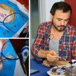 Foto: Cum se pictează un tricou. Tutorial de la Veaceslav Sambriș!