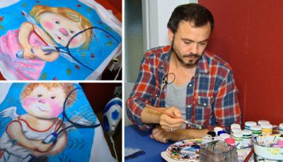 Cum se pictează un tricou. Tutorial de la Veaceslav Sambriș!