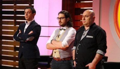 """Cei trei chefi de la """"Masterchef"""" au fost daţi afară de la PRO TV"""