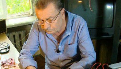 Ștefan Petrache își dorește azi o căldare de vodkă. Așa glumește maestrul la 65 de ani!