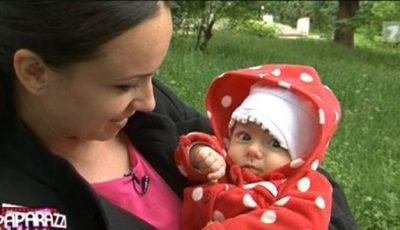 Prezentatoare tv, Lucia Roşca, şi-a botezat fetiţa