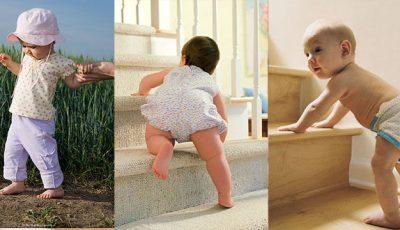 Când copilul tău este pregătit să facă primii pași