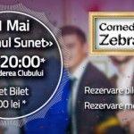 Foto: Zebra Show te invită la careu pe 31 mai!